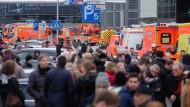 Hamburger Flughafen für eine Stunde gesperrt