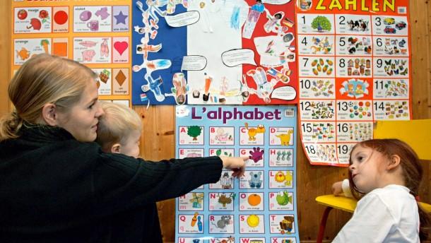 Französische Sprache schon im Kindergarten erlernen