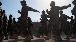 Afghanische Armee will bald alle Operationen führen