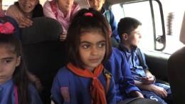 Kurdische Kinder in Syrien und ihr komplizierter Schulweg