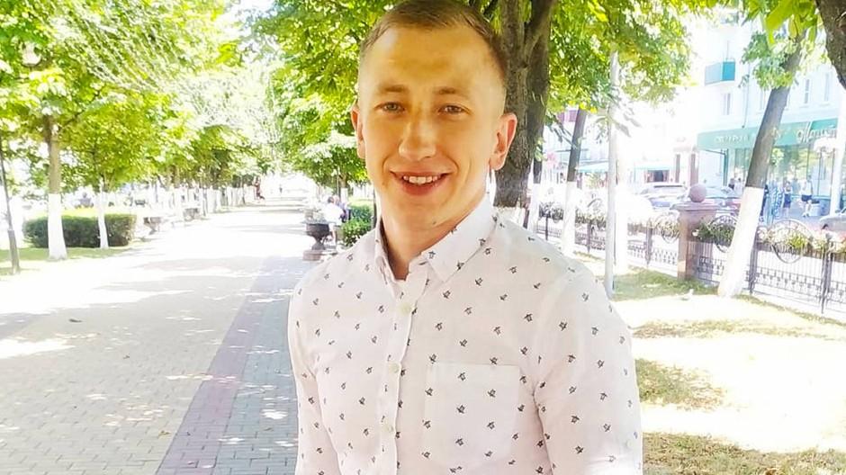 Witalij Schischow ist auf einer Aufnahme in der ukrainischen Hauptstadt zu sehen.