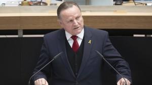 SPD empört über Rede Pazderskis