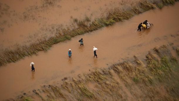 """Mehr als 600 Menschen starben wegen Zyklon """"Idai"""""""