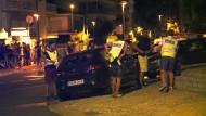 Polizeieinsatz in Cambrils