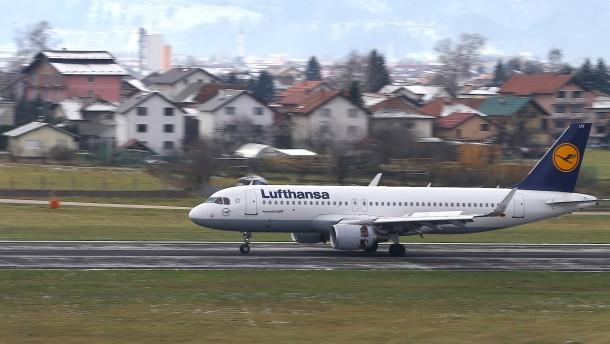 Die Probleme der Lufthansa