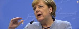 Bundeskanzlerin Angela Merkel spricht beim EU-Gipfel in Brüssel