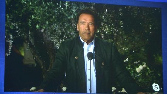 Schwarzeneggers eindringlicher Appell beim Klimagipfel