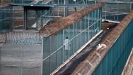 Das amerikanische Gefängnis Guantanamo auf Kuba (aufgenommen im April 2014)