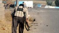Auf der Flucht vor IS-Milizen
