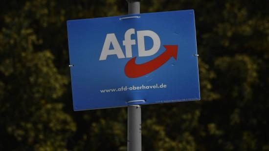 Keine Chance auf Regierungsbeteiligung für AFD