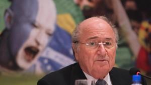 Blatter will sich einmischen