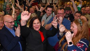 Sinn Féin will linke Regierung bilden