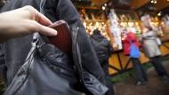 Taschendiebe mögen Weihnachtsmärkte