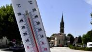 In Frankreich kletterten die Temperaturen deutlich über die 40-Grad-Marke