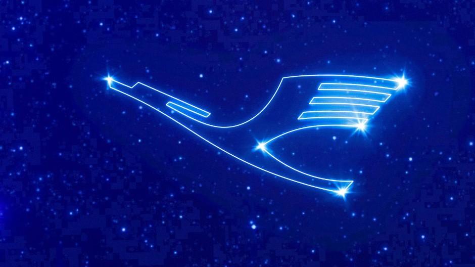 Mit neuem Logo und Rekordergebnis im Rücken will die Lufthansa ihren Premiumanspruch unterstreichen.