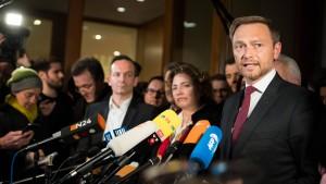 FDP bricht Jamaika-Verhandlungen ab