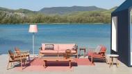 Schafft ein perfektes Wohnzimmer: Die Riva-Kollektion von Jasper Morrison für Kettal