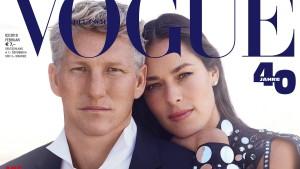 """Schweinsteiger ist erster deutscher Mann auf """"Vogue""""-Cover"""