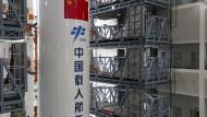 Reste von chinesischer Rakete in den Indischen Ozean gestürzt