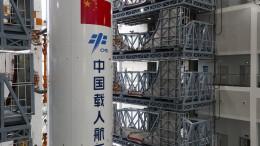 China weist Sorgen vor herabfallenden Raketen-Trümmern zurück