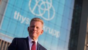 Thyssen-Krupp-Chef Kerkhoff soll wieder gehen