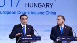 China weitet seinen Einfluss auf Osteuropa aus