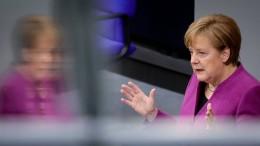 Merkel fordert Neuausrichtung der EU-Finanzen