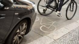 Parken auf dem Radweg soll bis zu 100 Euro kosten