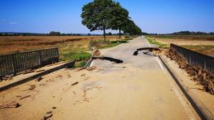 Katastrophengebiete wappnen sich fürs Wochenende