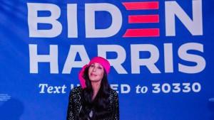 Glückwünsche von Cher bis LeBron James