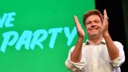 Grüne mit 21 Prozent an zweiter Stelle und vor AfD