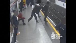 Lebenslang für U-Bahn-Schubser