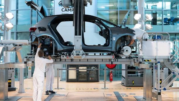 Deutsche Produktion zieht an