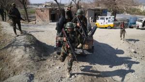 Zwei amerikanische Soldaten von Angreifer erschossen