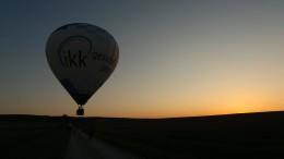 Fünf Verletzte bei Notlandung von Heißluftballon