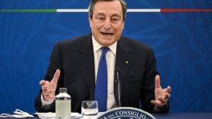 Draghi bezeichnet Erdogan als Diktator