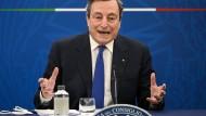 Italiens Regierungschef Mario Draghi