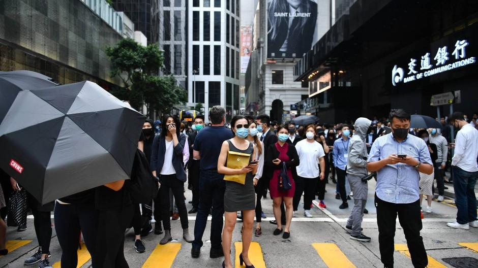 Neue Proteste in Hongkong