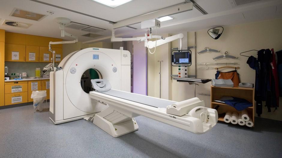 Die Computertomographie ist wichtig für die Diagnostik von Patienten mit Symptomen.