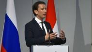 Kurz für Annäherung der EU an Russland