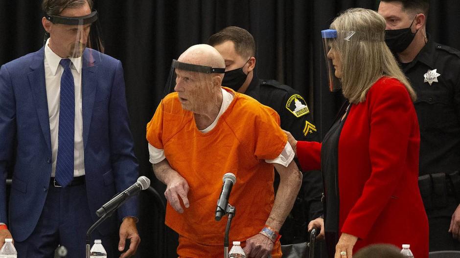 Der Angeklagte Joseph James D. im Gerichtssaal
