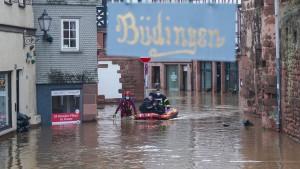 Streit um den Hochwasserschutz