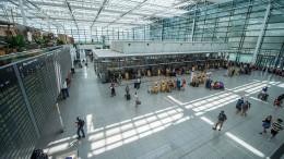 Münchner Flughafen kurzzeitig lahmgelegt