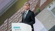 Joe Kaeser: Vorstandsvorsitzender von Siemens