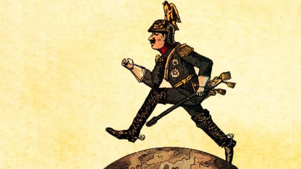 Illustration / Staat und Recht / Formatänderung / Wilhelm II, will ein Weltreich erreichten