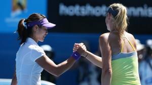Das Finale steht: Li Na gegen Viktoria Asarenka