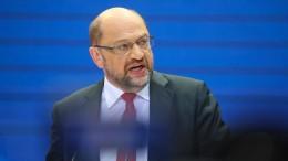 Schulz: Haben Auftrag eine starke Opposition zu sein