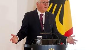 Steinmeier ist jetzt Ehrenbürger Berlins