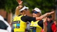 Karla Borger und Margareta Kozuch mussten um ihre Anerkennung als offizielles Nationalteam hart kämpfen.