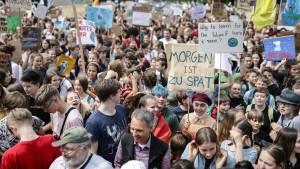 Zehntausende Jugendliche streiken für das Klima